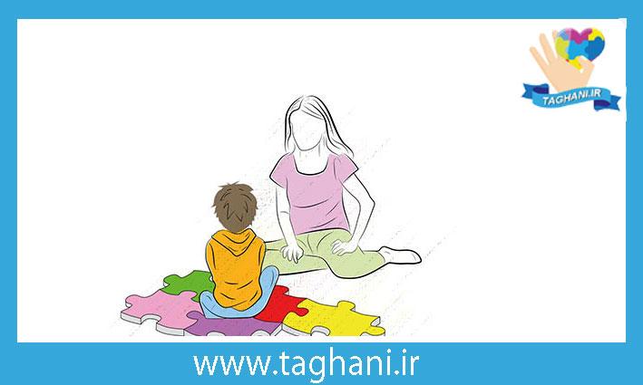بازی با کودکان اوتیسم در خانه